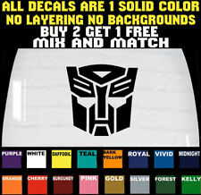 AUTOBOT DECAL BUMPER STICKER CAR TRUCK LAPTOP VINYL DECAL * BUY 2 GET 1 FREE *