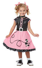 Toddler 50's Poodle Cutie Girls Grease Halloween Costume