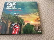 THE ROLLING STONES-SWEET SUMMER SUN-HYDE PARK LIVE-2CDS + DVD and Blu Ray
