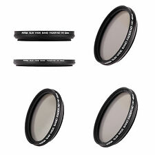10X(Slim Fader Variable ND Filter Adjustable Neutral Density ND2 to ND400 HY