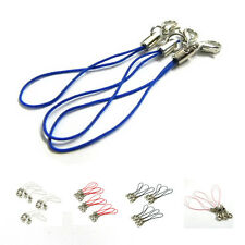 5X(10pcs Mobile Cell Phone cords Strap Lariat Lanyard Lobster Clasp HY