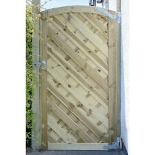GARDEN TIMBER WOODEN GATE - Tall Elite St lunairs Gate 1.8m by GRANGE