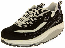 Ladies SKECHERS LEATHER Shape Up Toning Trainers Fitness Walking Shoe Size 4 5 6