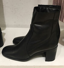 ZARA LEATHER HIGH HEEL ANKLE BOOTS 35-41 ref. 7104/101