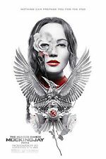 THE HUNGER GAMES: MOCKINGJAY Part 2 Movie Silk Fabric Poster IMAX