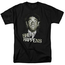 Three Stooges Shemp Face Picture Shemp Happens Licensed Tee Shirt S-3XL