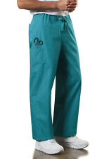 Scrubs Cherokee Unisex Drawstring Pant Style: 4100 Teal Blue   FREE SHIPPING
