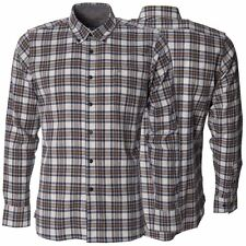 Mens Checked Heritage Button Down Collared Long Sleeve Shirt Maddox St S-XXL