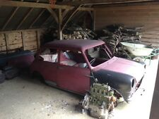 1960 Morris Mini Minor Deluxe Project