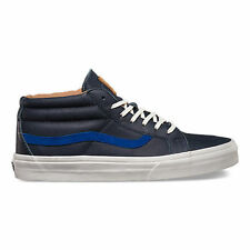 VANS SK8 MID CA MENS SHOES 2 TONE DRESS BLUES CL BLUE CASUAL SKATEBOARD SNEAKERS
