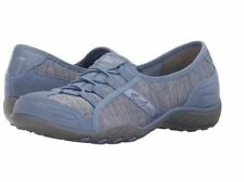 22534 Blue Skechers Shoes Memory Foam Women Sporty Casual Dress Comfort Sneaker