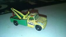 VINTAGE NYC TRANSIT BUS TOW TRUCK LESNEY MATCHBOX SERIES #13 COLLECTIBLE NYC TOY