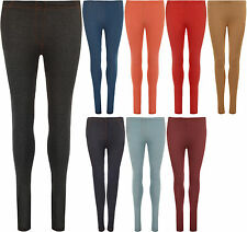New Womens Jeggings Stretch Full Long Ladies Pocket Leggings Pants Trousers