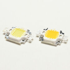 10 PCS New 10W Cool/Warm White High Power 30Mil SMD Led Chip Flood Light Bead BY