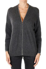 BRUNELLO CUCINELLI Woman Cardigan with Small Pearl Applied Made in Italy