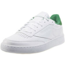 Reebok Club C 85 El Mens Trainers White Green New Shoes