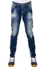 DSQUARED2 Dsquared² New Men Jeans Denim CLASSIC KENNY Destroyed  Made  Italy