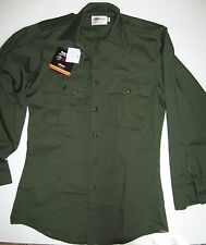 Elbeco G979 TEKTWILL Long Sleeve Basic Duty Shirt, OD Green