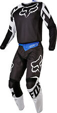 Fox Racing Mens Black/White 180 Race Dirt Bike Jersey Pants Kit Combo MX ATV BMX