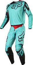 Fox Racing Mens Green/Black 180 Race Dirt Bike Jersey Pants Kit Combo MX ATV BMX