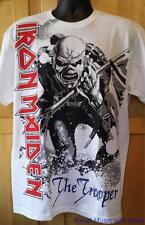 """IRON MAIDEN T-Shirt """"Trooper"""" Front/Back Official/Licensed S, M, L, XL, 2XL  NEW"""