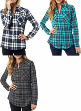 Fox Racing Womens Long Sleeve Flown Flannel