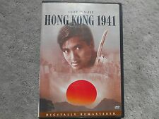 Hong Kong 1941 (DVD, 2003, Hong Kong Legends)*Chow Yun-Fat- Free Shipping