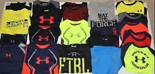 Boys Under Armour Long Sleeve Shirts New Size: 2T, 3T, 4T, 4, 5, 6