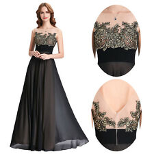 Long Formal Dress Chiffon Bridesmaid Evening Cocktail Party  Ball Gown Prom Sexy