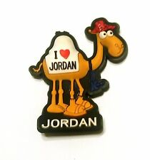 Jordan Rubber Silicone Country Souvenir Fridge Magnet Middle east Arab World