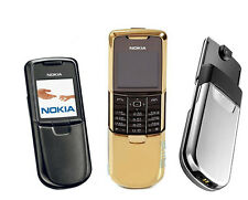 Nokia 8800 CELL PHONE Unlocked AT&T Gold Silver Black choose without retail box