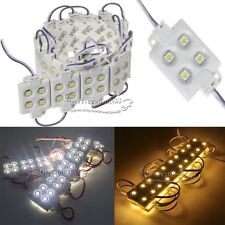 Waterproof 5050 SMD 4 LED Modules Lights Cool Warm White RGB for Xmas Decor HOT