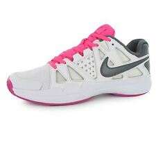 Nike Air Vapour Advantage Tennis Shoes Womens White/Grey Court Trainers Sneakers