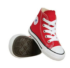 Converse All Star Hi Top Infant Kids Trainers Red