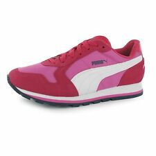 Puma ST Runner Nylon Trainers Womens Pink/White Casual Fashion Sneakers Shoes