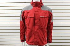 Men's Marmot MemBrain Waterproof Access Jacket Fire/Gargoyle 70318 New With Tag