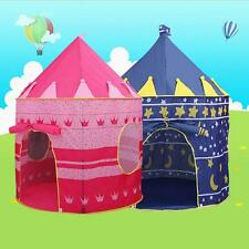 Portable Children Folding Play House Tent Kids Castle Toy Cubby Outdoor House