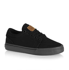 GLOBE GS KIDS BLACK BLACK RED BOYS YOUTH SKATEBOARD SHOES AUSTRALIA