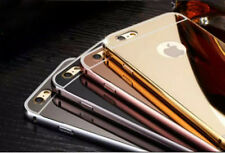 Apple iPhone 5 6 s Plus + Luxury Mirror Thin Hard Aluminum Metal  Case Cover