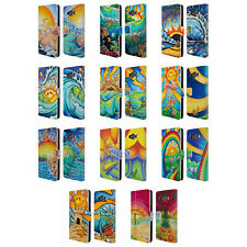 OFFICIAL DREW BROPHY SURF ART LEATHER BOOK WALLET CASE FOR SAMSUNG PHONES 2