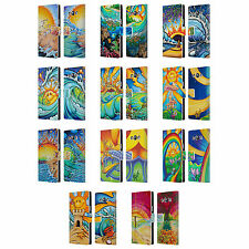 OFFICIAL DREW BROPHY SURF ART LEATHER BOOK WALLET CASE FOR SAMSUNG PHONES 3