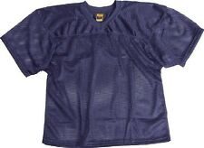 New ProMark Football Lacrosse Youth Waist Length Poly Mesh Practice Jersey NAVY