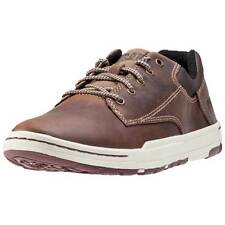 Caterpillar Colfax Mens Trainers Dark Brown New Shoes