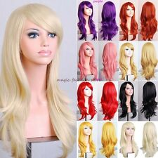 Brand New Lady Wigs Long Layer Full Hair Wig Cosplay Party Daily Fancy Dress D37