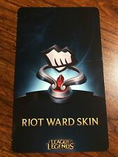 League of Legends lol Fist Bump Riot Ward Skin Code Pax Any Server NA, EUW, etc