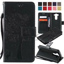 PU leather wallet case flip carrying folio Card holder TPU for most smart phones
