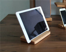 High Quality Solid Wood iPhone iPad Tablet Desktop Stand Holder Dock w' Dust Bag