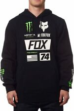 Fox Racing Mens Monster Energy Union Pullover Motocross Hoody Sweatshirt