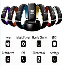 Bluetooth Smart Wrist Phone Bracelet Watch For HTC Android IOS Samsung iPhone