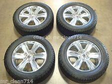 """20"""" 15-16 Ford F-150 PLATINUM WHEELS Rims TIRES EXPEDITION OEM Factory F150"""